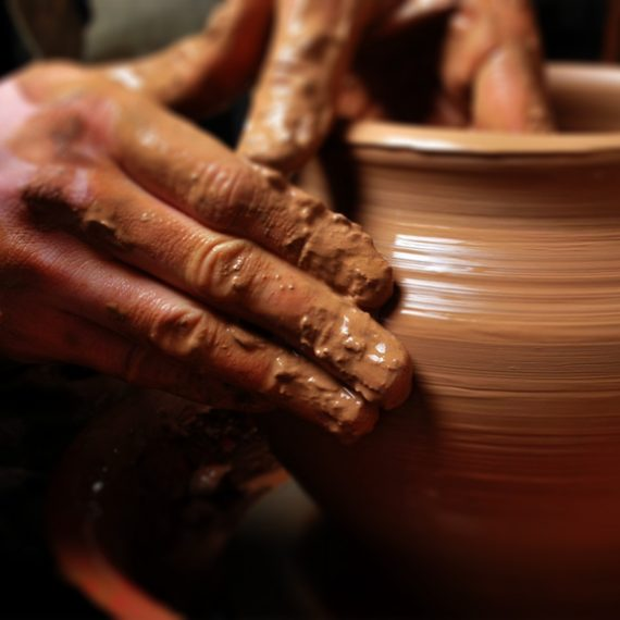 Pottery in Navarrete