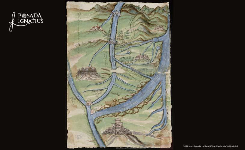 old map of navarrete 1616
